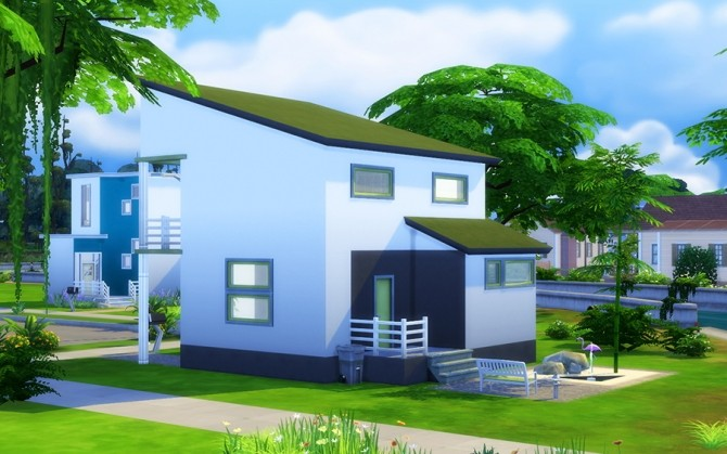 Starter house Zen at ihelensims image 892 670x419 Sims 4 Updates