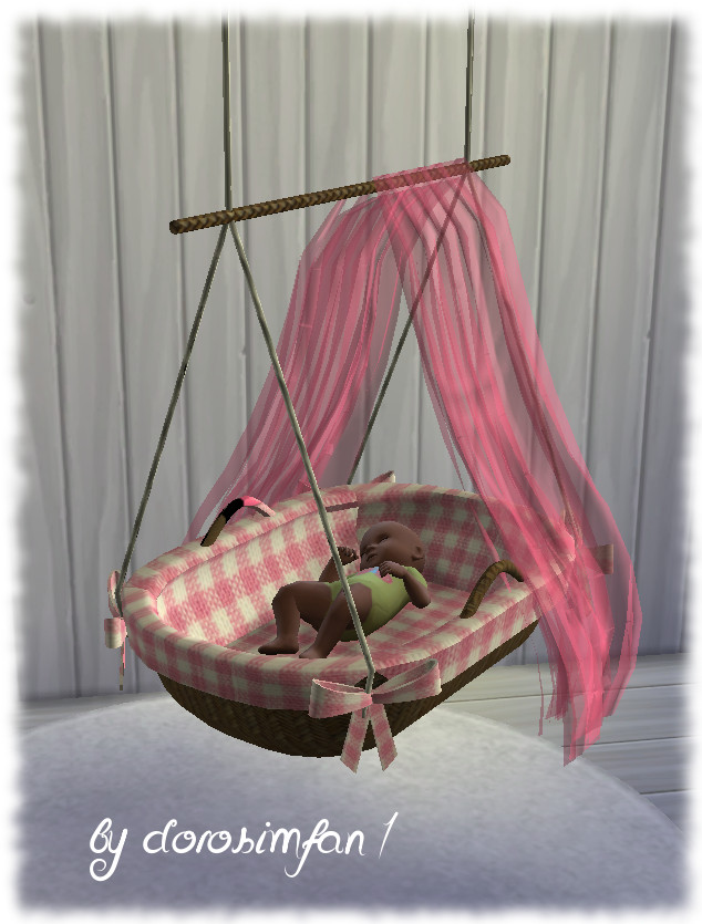 Hanging Cradle For Babies By Dorosimfan1 At Sims