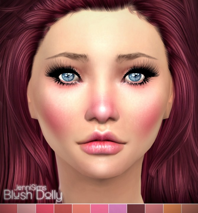 Sims 4 Dolly blush at Jenni Sims