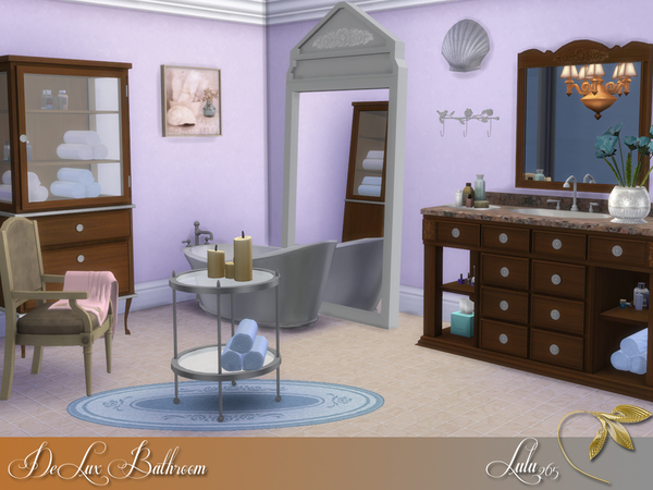 DeLux Bathroom by Lulu265 at TSR image 9132 Sims 4 Updates