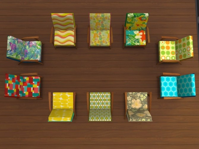 60s chair recolors at Un bichobolita image 915 670x503 Sims 4 Updates