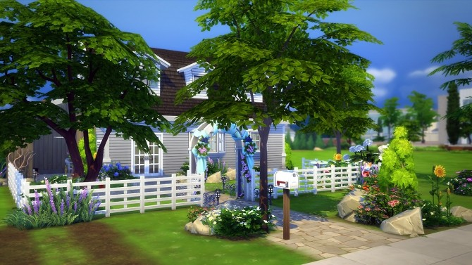 Sims 4 Bobbi house at Fezet's Corporation