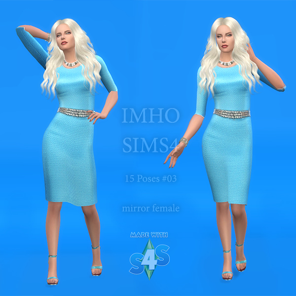 15 Poses #03 at IMHO Sims 4 image  Sims 4 Updates
