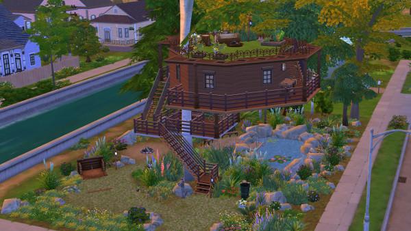 Tree house by juru88 at Sims Marktplatz image 9621 Sims 4 Updates