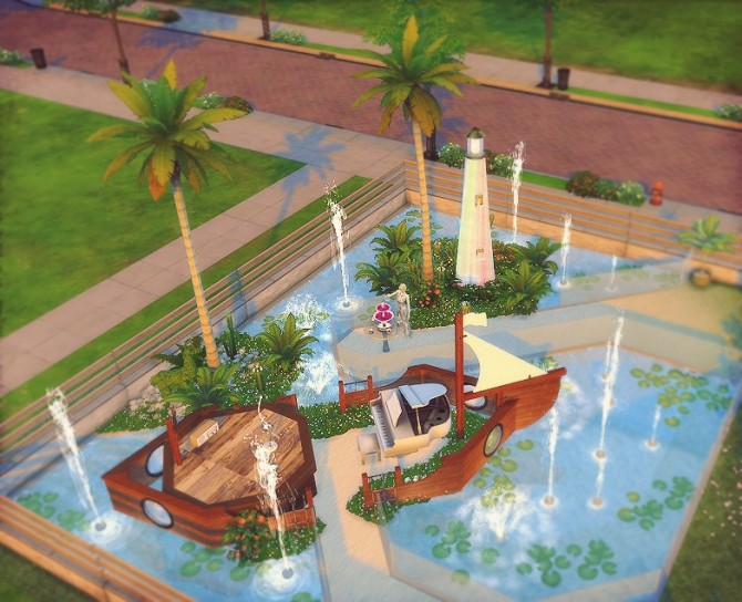Tropical Wedding Venue At Dominationkid Sims 4 Updates