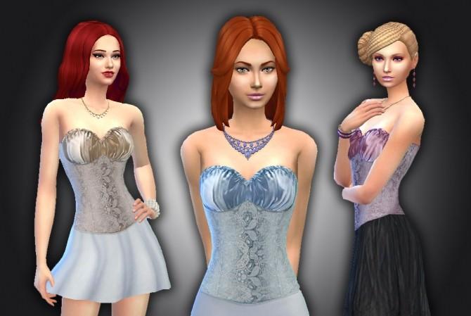 Sims 4 Fashion Corset at My Stuff