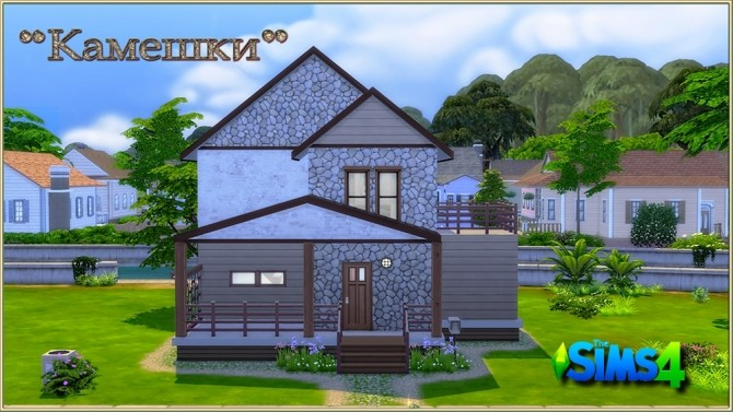 Stones starter house by fatalist at ihelensims image 992 670x377 Sims 4 Updates