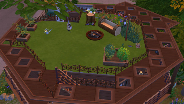 Tree house by juru88 at Sims Marktplatz image 9920 Sims 4 Updates