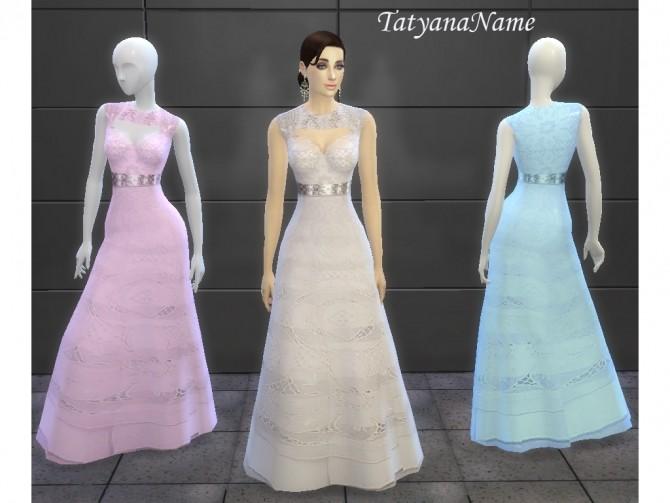 Malvina dress at Tatyana Name image 10123 670x503 Sims 4 Updates