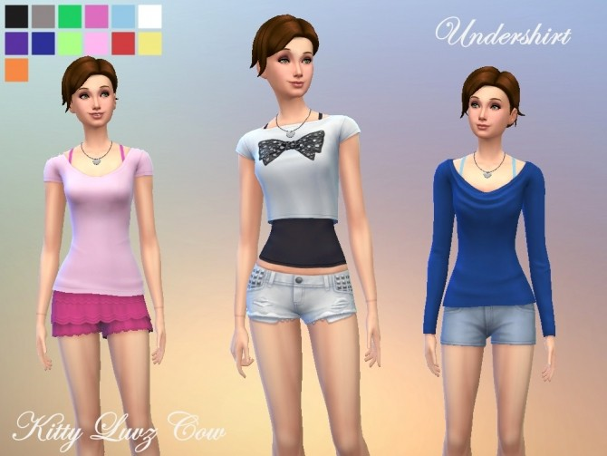 Undershirt by KittyluvzCow at Mod The Sims image 10213 670x503 Sims 4 Updates