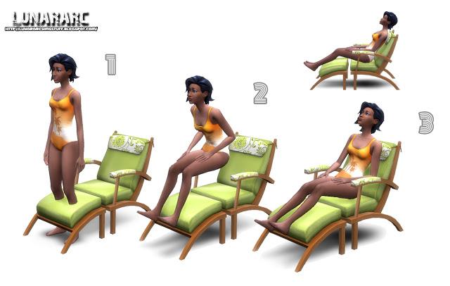 Sims 4 Luana Lounge Chair at Lunararc