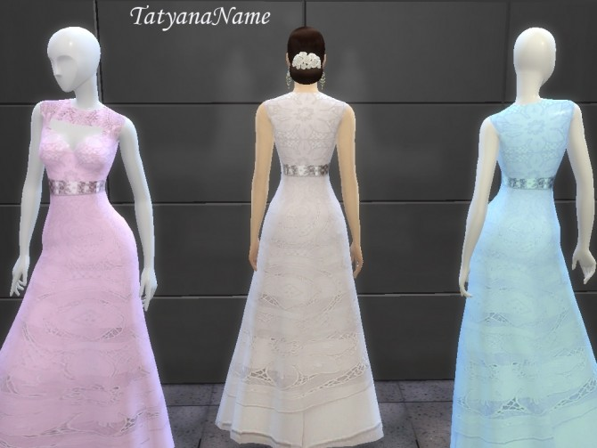 Malvina dress at Tatyana Name image 10318 670x503 Sims 4 Updates
