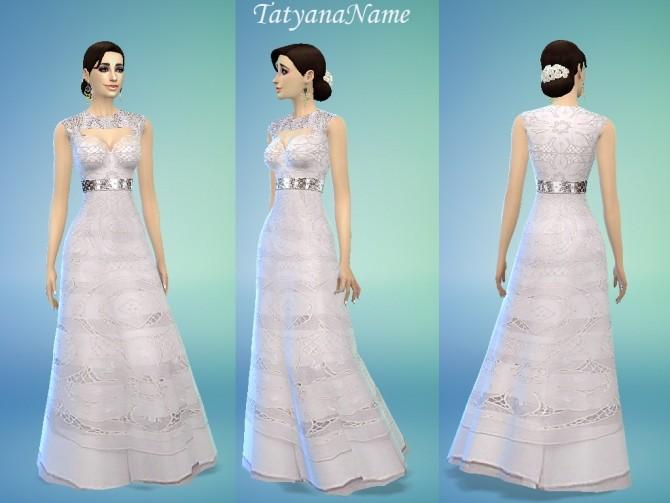 Malvina dress at Tatyana Name image 10419 670x503 Sims 4 Updates