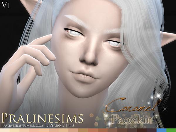 Caramel Faceskin by Pralinesims at TSR image 1080 Sims 4 Updates