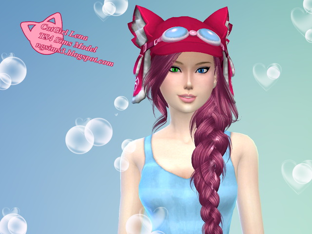 Sims 4 Anime Characters Mod : Catgirl lena at ng sims updates