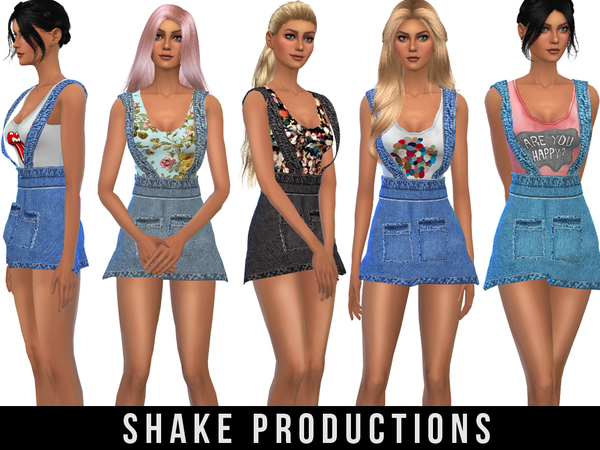 Sims 4 Denim outfit 29 by ShakeProductions at TSR