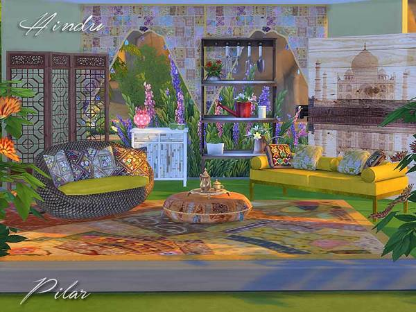 Sims 4 Ambientes Outdoor by Pilar at TSR