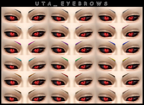 Uta Eyebrows at DecayClown's Sims image 11212 Sims 4 Updates