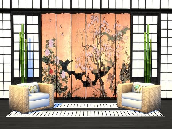 Japanese Panels Set by Ineliz at TSR image 11213 Sims 4 Updates
