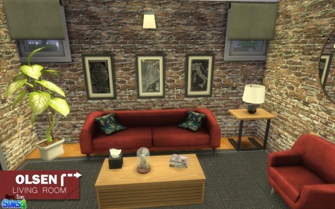 Olsen Living Room by Kiara Rawks at Onyx Sims image 11514 670x419 Sims 4 Updates