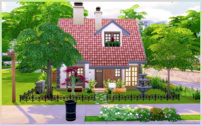 Little Dream house at Homeless Sims image 1153 670x419 Sims 4 Updates