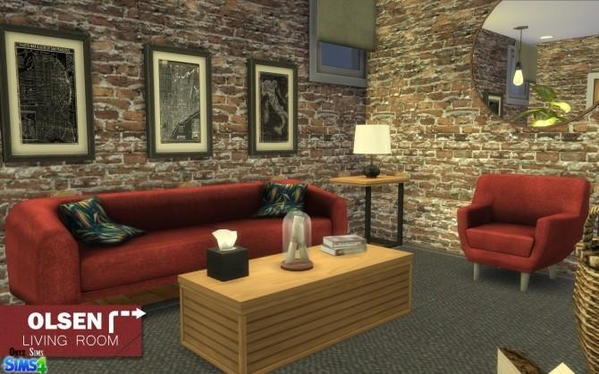 Olsen Living Room by Kiara Rawks at Onyx Sims image 11613 670x419 Sims 4 Updates
