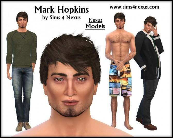 Sims 4 Mark Hopkins by SamanthaGump at Sims 4 Nexus