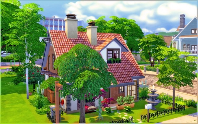 Little Dream house at Homeless Sims image 1163 670x419 Sims 4 Updates