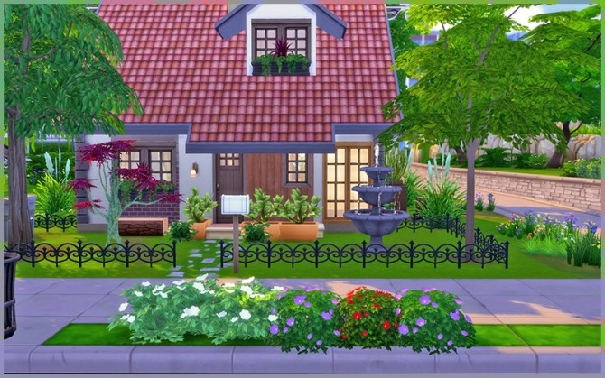 Little Dream house at Homeless Sims image 1172 670x419 Sims 4 Updates
