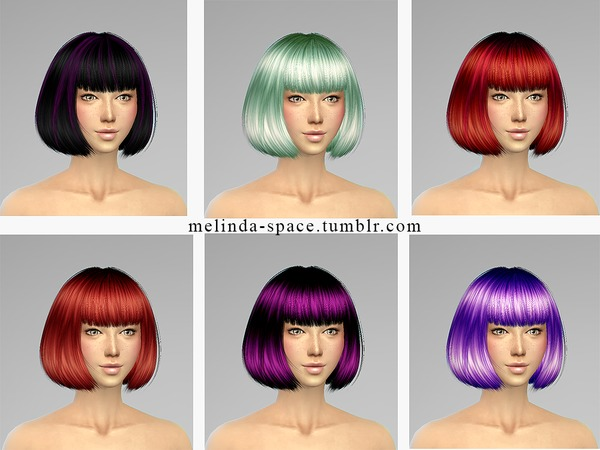 S Club Hair 2 Retexture by Melinda at Sims Fans image 11810 Sims 4 Updates