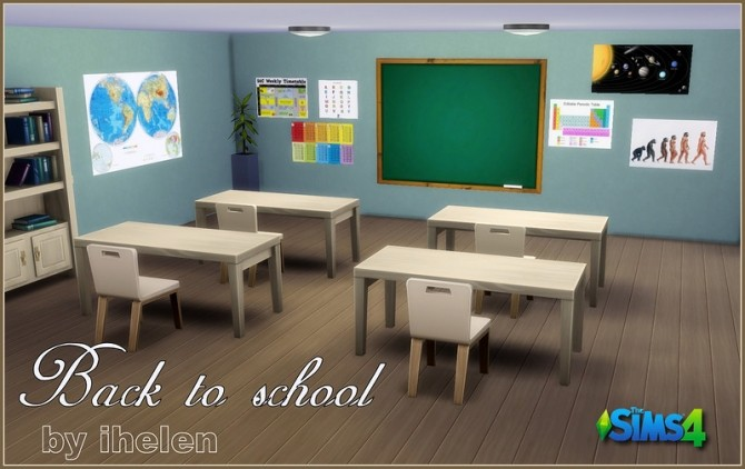 The Sims 4 Go to School Mod Pack was first released on May 2015 and offered a simple event where Child and Teen Sims would go to school and complete goals ...