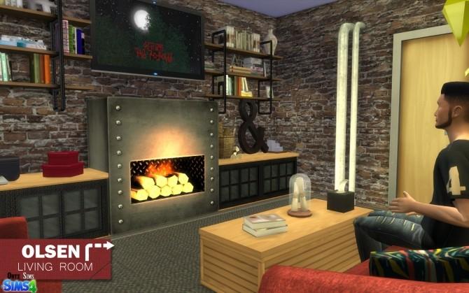 Olsen Living Room by Kiara Rawks at Onyx Sims image 11813 670x419 Sims 4 Updates