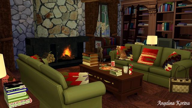 Sims 4 House on the outskirts at Angelina Koritsa