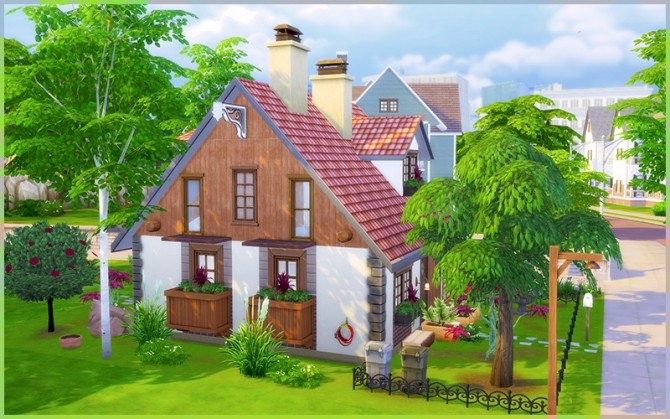 Little Dream house at Homeless Sims image 1183 670x419 Sims 4 Updates