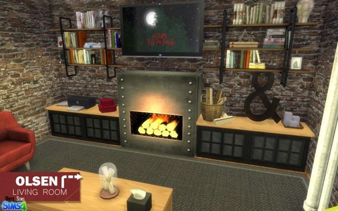 Olsen Living Room by Kiara Rawks at Onyx Sims image 11913 670x419 Sims 4 Updates