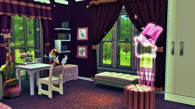 Sims 4 Purple Kidsroom for Girls at Sanjana sims