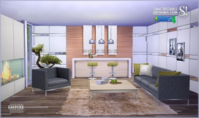 SIMcredible! Designs » Empire livingroom » Sims 4 Updates