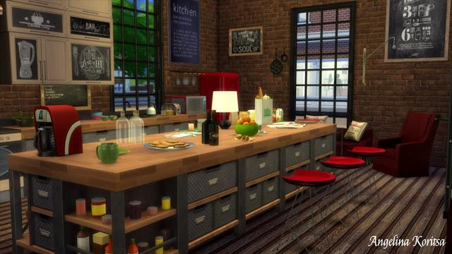 Sims 4 Height house at Angelina Koritsa