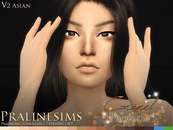 Caramel Faceskin by Pralinesims at TSR image 1250 Sims 4 Updates