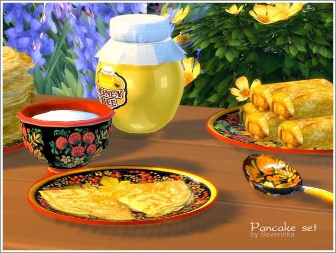 Pancake set at Sims by Severinka image 126 670x505 Sims 4 Updates