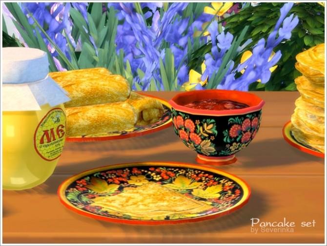 Pancake set at Sims by Severinka image 127 670x505 Sims 4 Updates