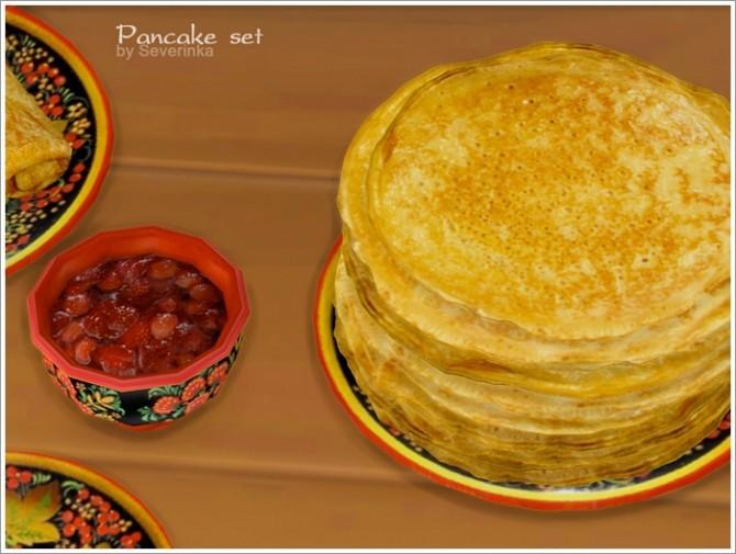 Pancake set at Sims by Severinka image 128 670x505 Sims 4 Updates