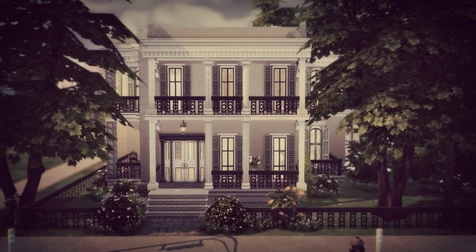 Mayfair house by Angerouge at Studio Sims Creation image 12911 670x355 Sims 4 Updates