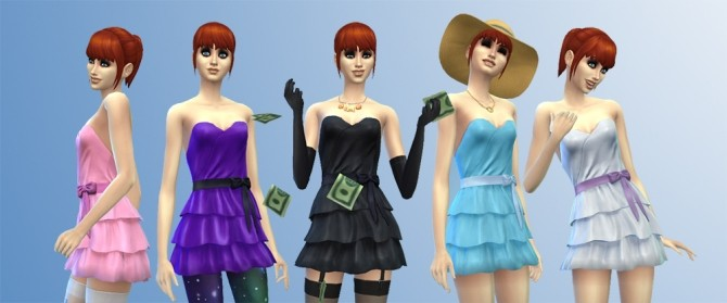 Short Frilly Dress by Supercalifragilistic at Mod The Sims image 13010 670x279 Sims 4 Updates
