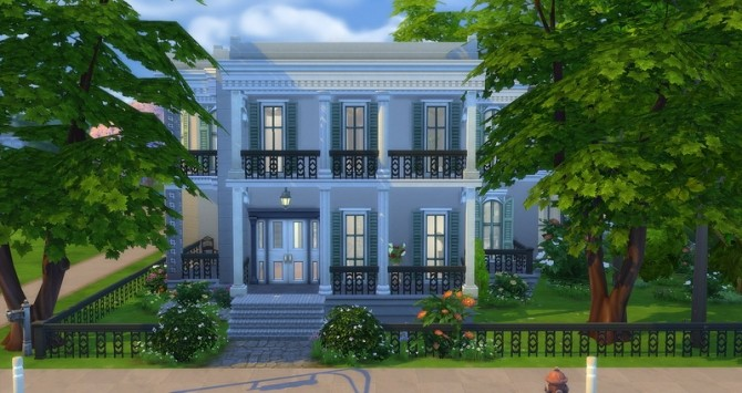 Mayfair house by Angerouge at Studio Sims Creation image 13011 670x355 Sims 4 Updates