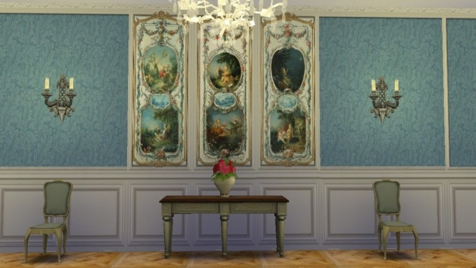 Trianon Wall Set 1 at Regal Sims image 13114 670x377 Sims 4 Updates