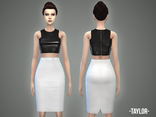 Sims 4 Taylor outfit by April at TSR
