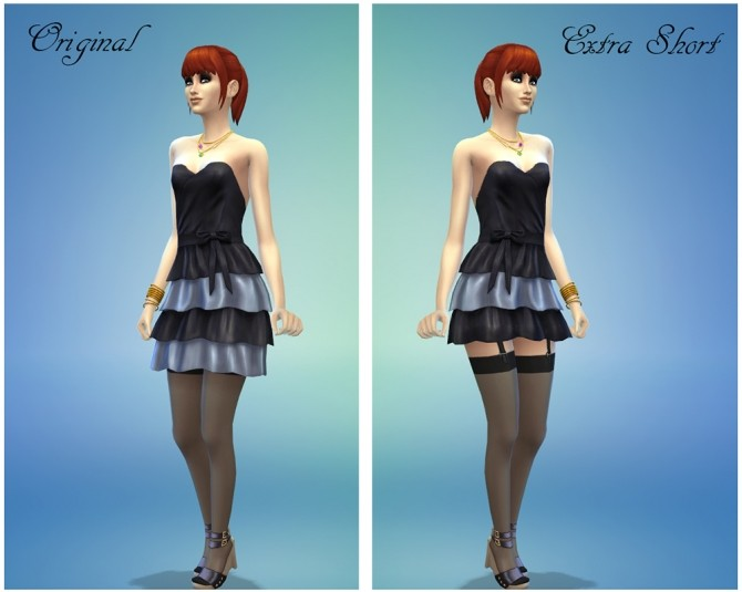 Short Frilly Dress by Supercalifragilistic at Mod The Sims image 13116 670x535 Sims 4 Updates