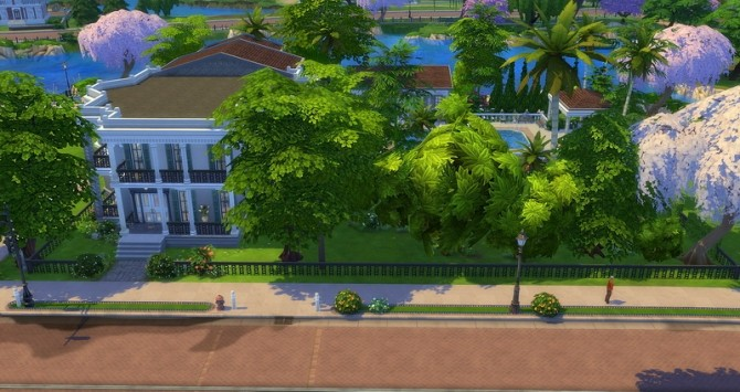 Mayfair house by Angerouge at Studio Sims Creation image 13117 670x355 Sims 4 Updates
