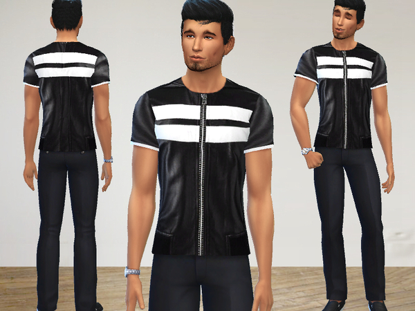 Black and White Outfits by Puresim at TSR image 1313 Sims 4 Updates